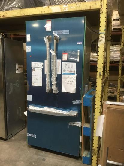 Thermador Freedom 19.4 Cu. Ft. 35.7 In. Stainless Steel Built-In French Door Refrigerator