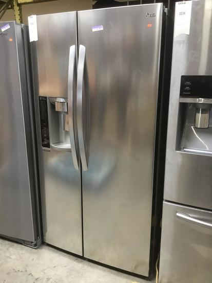 LG Electronics 26.2 Cu. Ft. Stainless Steel Built-In Side-By-Side Refrigerator