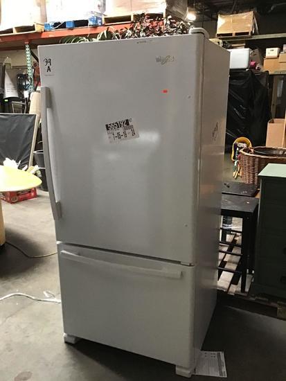 Whirlpool 22 cu. ft. Bottom Freezer Refrigerator