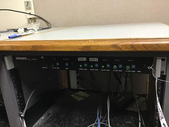 (2) Assorted Rack Mount Units