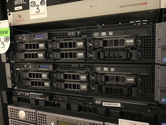 (3) Assorted Rack Mount Units