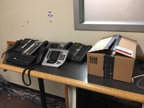 Lot of Assorted Telos Broadcast Telephone System Handsets, Rack Mount Units Etc.