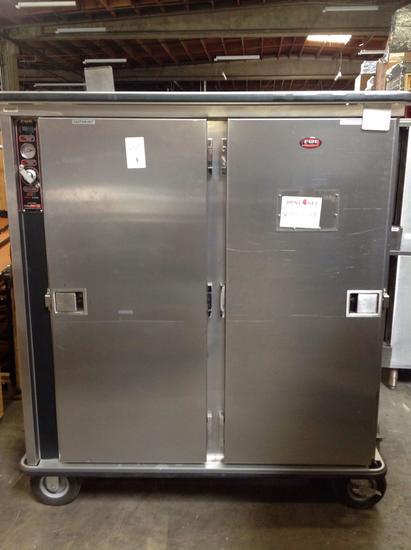 (1)FWE. Food Warmer Equip. Double Food Warmer. On wheels. Dist#C000112746.