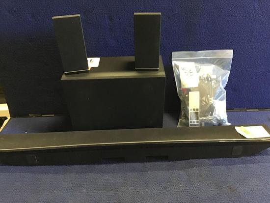 VIZIO 5.1 Sound-Bar System With Portable Subwoofer