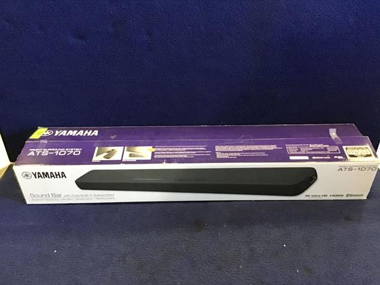 Yamaha Sound-Bar With Dual Built-In Subwoofers