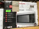 Sharp 2.2 cu.ft. Carousel Microwave Oven