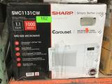 Sharp 1.1 cu.ft. Carousel Microwave Oven