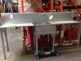 (1)Elkay. Sink. Stainless Steel. 8 Ft. 1 Compartment.