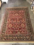 Rug Tycoon unmoas 8ft.x11ft. Red