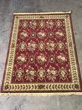 Rug Tycoon unmoas-42 5ft.x8ft. Red