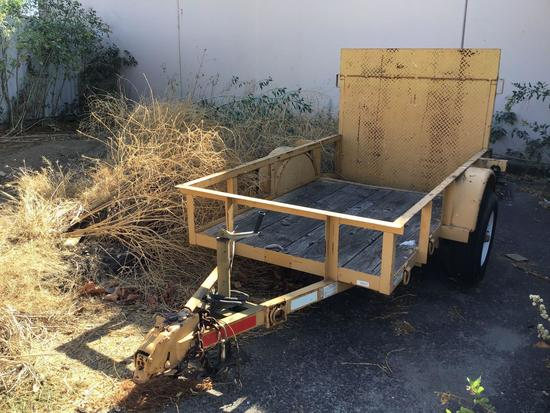 7ft. Trailer by Texas Trailers with Ramp