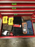 Drawer Lot of Assorted Drill Bits