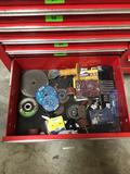 Drawer Lot of Assorted Grinding and Abrasive Wheels
