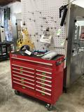 US GENERAL 44in. 13 Drawer Industrial Roll Tool Cabinet. ***CONTENTS NOT INCLUDED***