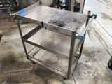 Small Metal Rolling Utility Cart