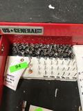 Lot of Assorted 1/4 in. Drive Sockets