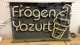 """Frogen Yozurt"" Sign"