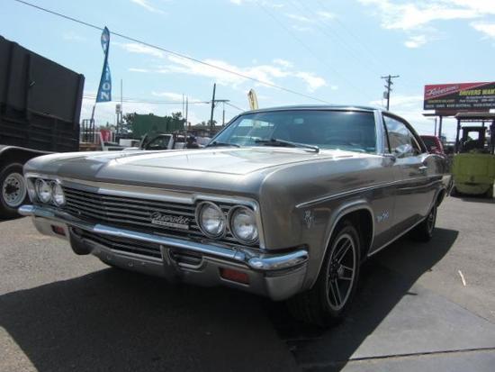 1966 Chevrolet Impala SS***TRUE SS VIN CODE 168***