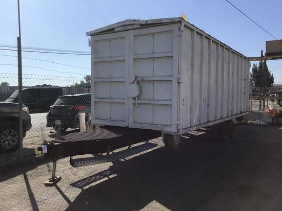 30ft Roll Off Container on Trailer
