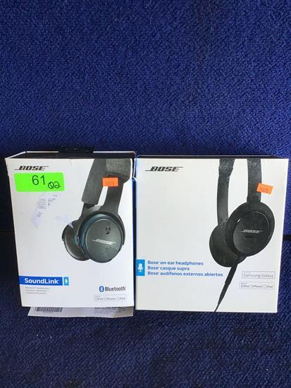 (2) Assorted Bose Headphones