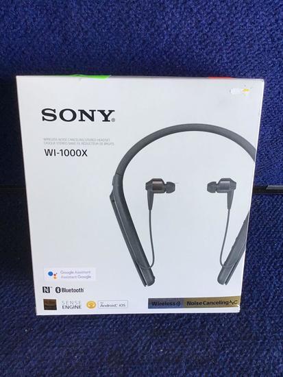 Sony Noise Canceling Wireless Behind-Neck In Ear Headphones