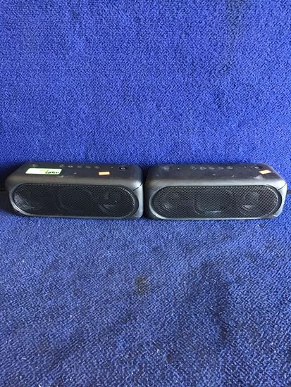 Lot of (2) Sony Extra Bass Portable Wireless Speakers