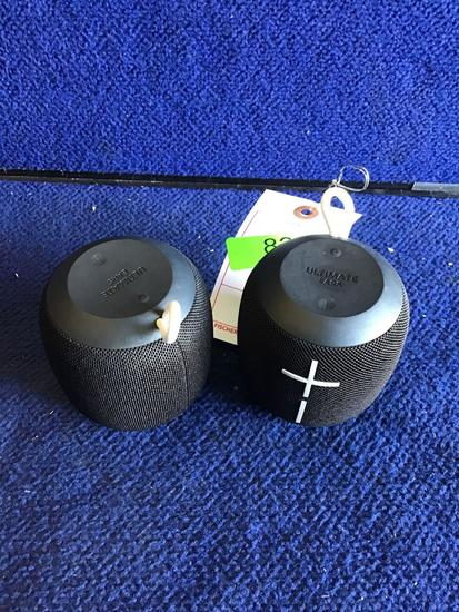 (2) UE Wonderboom Wireless Bluetooth Speakers