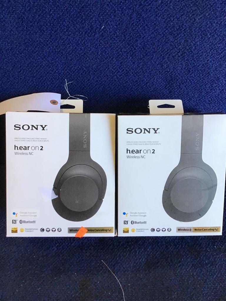(2) Sony H.ear On 2 Wireless Noise Canceling Headphones