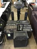 Lot of Assorted ION Speakers and Singing Machine Bluetooth Karaoke Machine