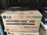 LG 27in. SideKick Pedestal Washer With TWINWash System Compatibility