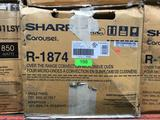 Sharp 1.1 Cu. Ft. Over the Range Convection Microwave in Stainless Steel