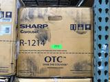 Sharp 1.5 Cu. Ft. Over the Counter Microwave in Stainless Steel with Sensor Cooking Technology