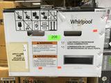Whirlpool 1.1 Cu. Ft. Over the Range Low Profile Microwave Hood Combination in Fingerprint Resistant