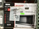 Sharp Carousel 1.8 Cu. Ft. Countertop Microwave in Stainless Steel with Sensor Cooking Technology