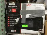Sharp Carousel 1.4 Cu Ft. 1000-Watt Countertop Microwave