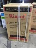 Rinnai High Efficiency 9.8 GPM Residential 199,000 BTU Natural Gas Exterior Tankless Water Heater