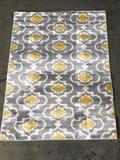World Rug Gallery 3ft.x5ft. Grey\Yellow