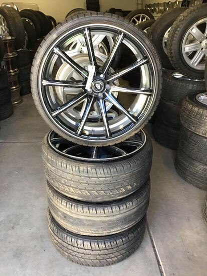 Tire Auction-ONLINE ONLY