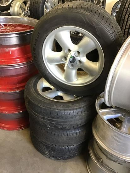 (4) 16in Cadillac Catera Wheels