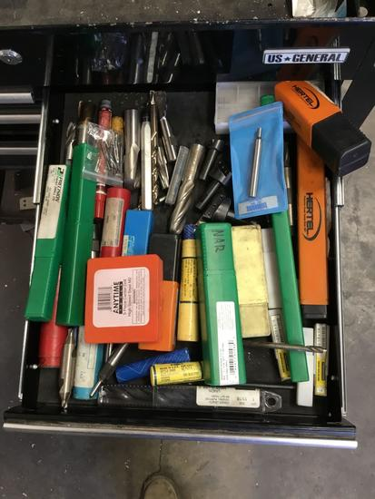 Lot of Assorted Cutting Bits and Accessories