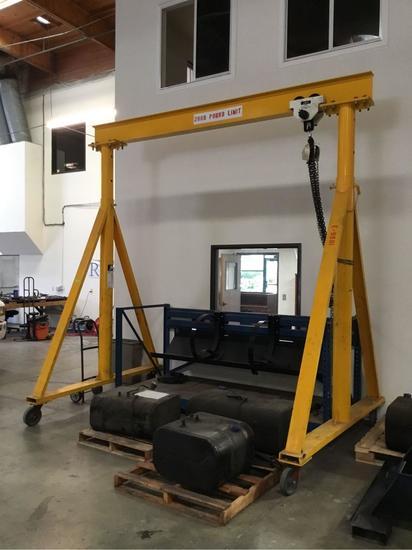 1 Ton Capacity Gantry Crane