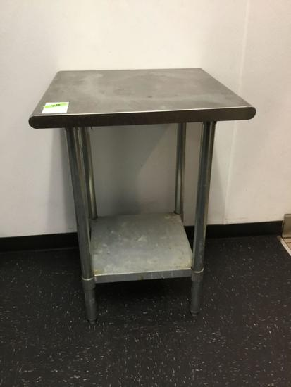 Stainless Steel Prep-Table