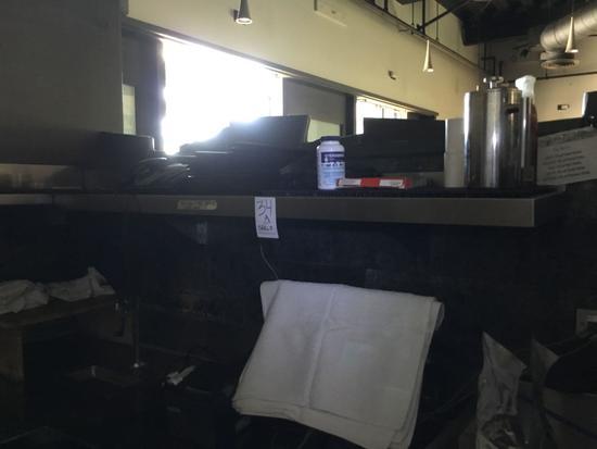 (2) Stainless Steel Shelves