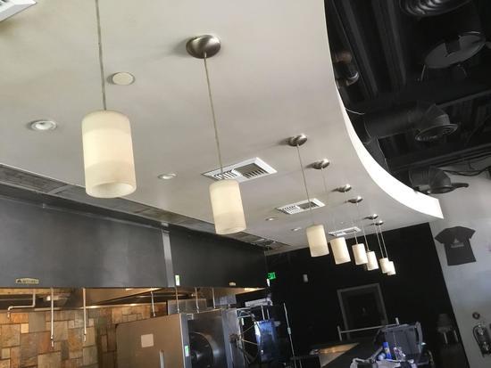 Lot of (8) Hanging Pendant Lights