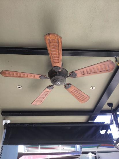 (2) Large Outdoor Ceiling Fans