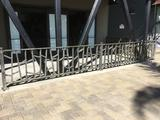 Lot of Approximately 50ft of Metal Ornate Hand Railing