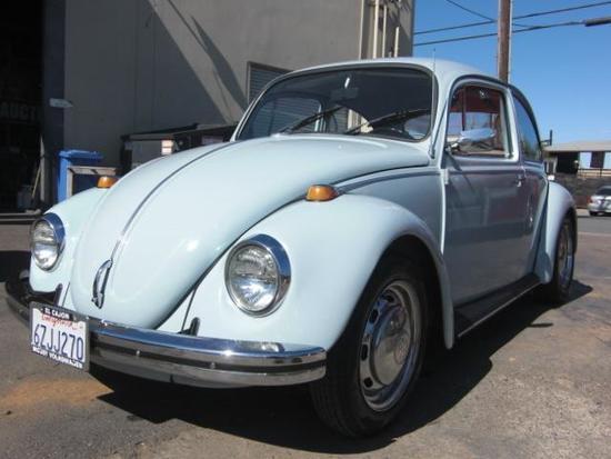1968 Volkswagen Beetle 1600cc