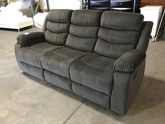 Winston Porter Manus Reclining Sofa