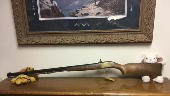 Vintage .45 Caliber Navy Arms Black Powder Rifle