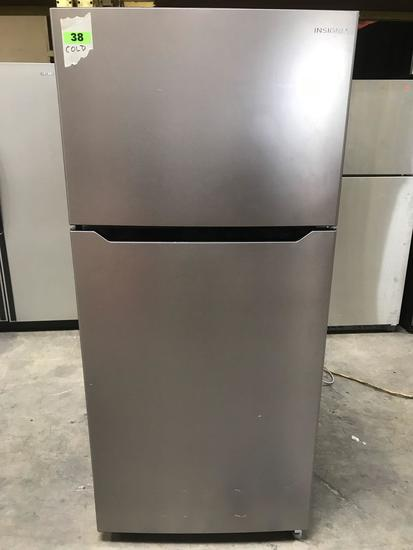 "Insignia NS-RTM18SS7 Top Freezer Refrigerator - 29.5"" - 18 cu ft - Stainless Steel"